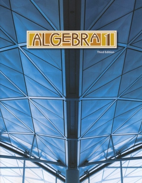 9th Grade Algebra I Textbook Kit, 3rd Edition from BJU Press