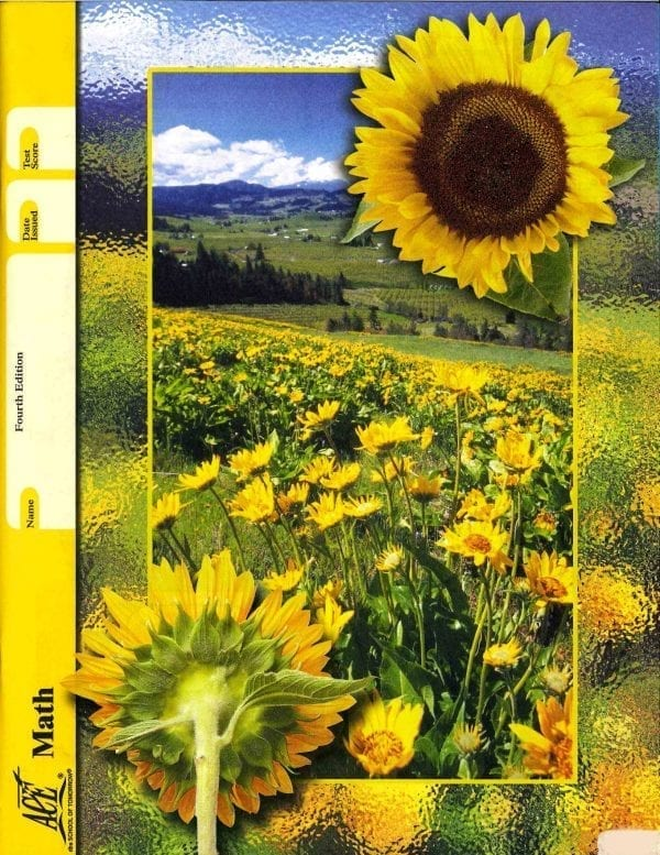 Math Unit 12 (Pace 1096) (Fourth Edition) from Accelerated Christian Education
