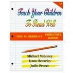 1A: Grade K-2 Instructor's Manual from Teach Your Children to Read Well Press