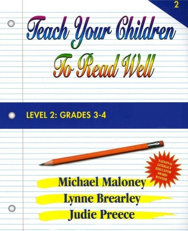 Level 2: Grade 3-4 Student Workbook by Teach Your Children To Read Well Press