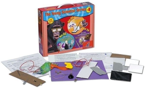 Science Set #8: Mirrrors, Electricity, Circuits, and Electromagnets from The Young Scientists Club