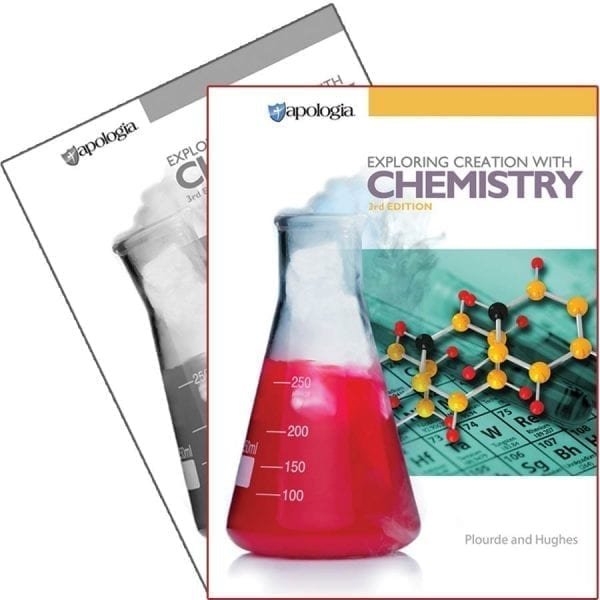 Exploring Creation with Chemistry Book Set from Apologia
