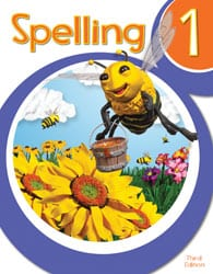 1st Grade Spelling Textbook Kit from BJU Press