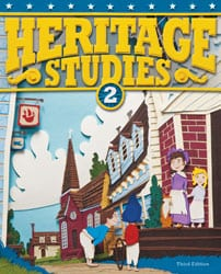 2nd Grade Heritage Studies Textbook Kit from BJU Press