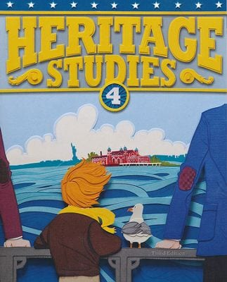 4th Grade Heritage Studies Textbook Kit from BJU Press