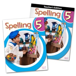 5th Grade Spelling Textbook Kit from BJU Press
