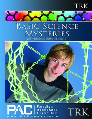 Basic Science Mysteries Teacher's Resource Kit with CD from Paradigm Accelerated Curriculum