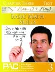 Basic Math Skills Chapter 3 Text from Paradigm Accelerated Curriculum