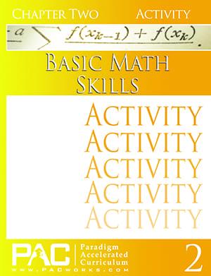 Basic Math Skills Chapter 2 Activities from Paradigm