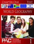 World Geography Chapter 1 Text from Paradigm Accelerated Curriculum