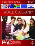 World Geography Chapter 4 Text from Paradigm Accelerated Curriculum