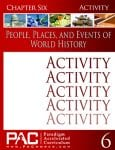 World Geography Chapter 6 Activities from Paradigm Accelerated Curriculum