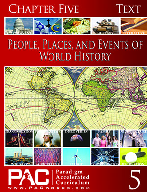 World History Chapter 5 Text from Paradigm Accelerated Curriculum
