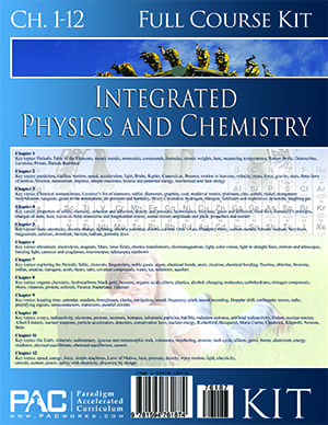 Integrated Physics and Chemistry 2-Year Kit from Paradigm Accelerated Curriculum