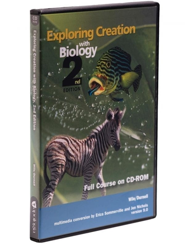Exploring Creation with Biology Second Edition Full Course on CD from Apologia