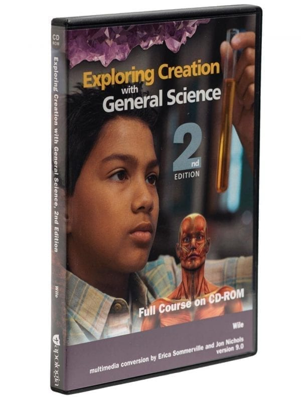 Exploring Creation with General Science Second Edition on CD