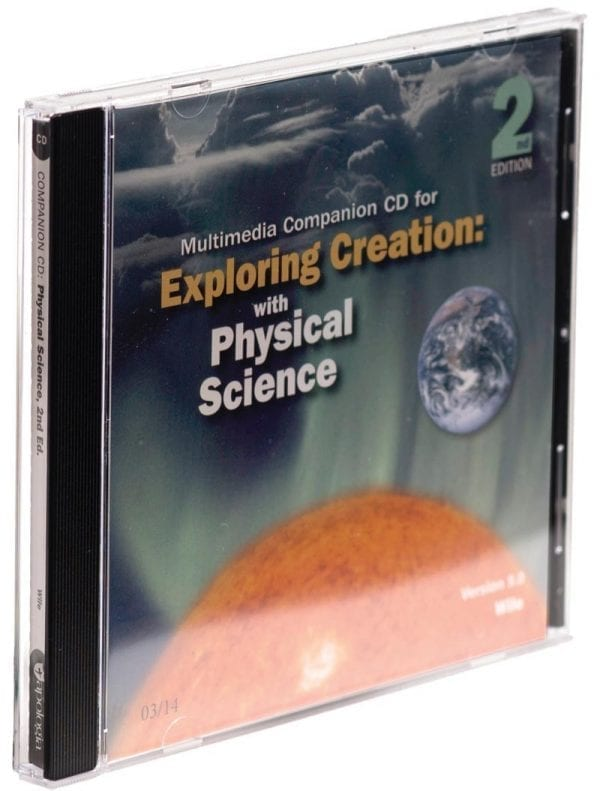 Exploring Creation with Physical Science Second Edition Companion Multimedia CD from Apologia