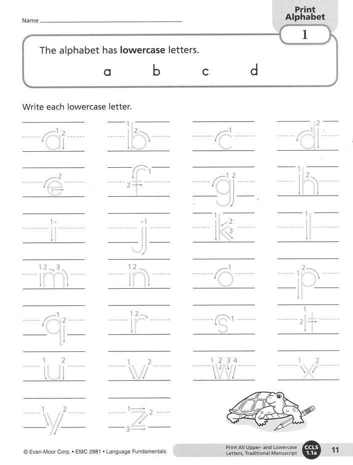 Language Fundamentals Grade 1 from Evan-Moor