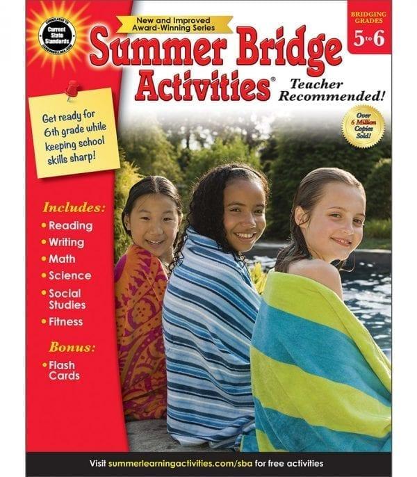 Summer Bridge Activities Grades 5-6 from Carson-Dellosa