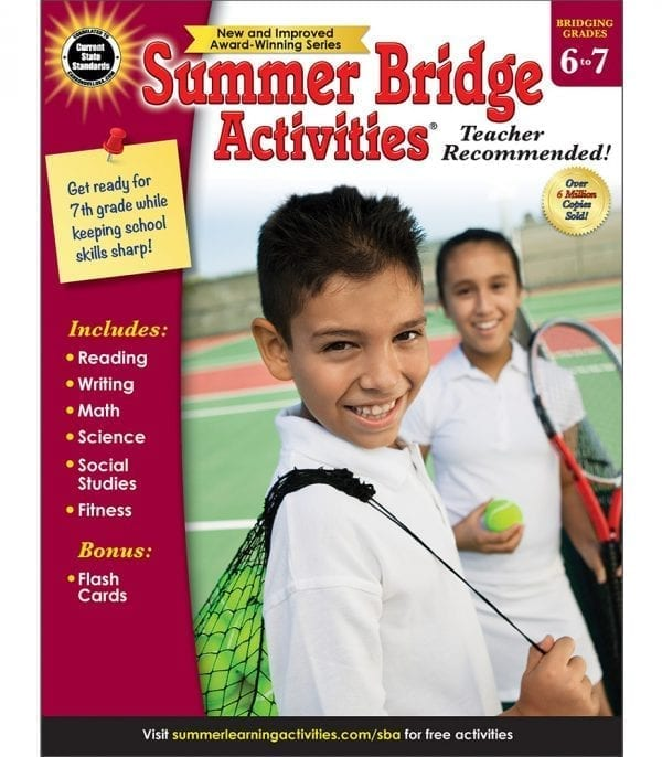 Summer Bridge Activities Grades 6-7 from Carson-Dellosa
