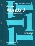 saxon math 1 WB