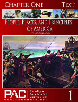 The Discovering of America (Chapter 1 Text) from Paradigm Accelerated Curriculum