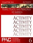 The Designing of America (Chapter 6 Activities) from Paradigm Accelerated Curriculum