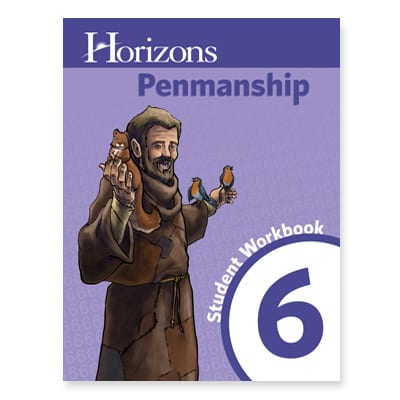 Horizons 6th Grade Penmanship Student Book from Alpha Omega Publications