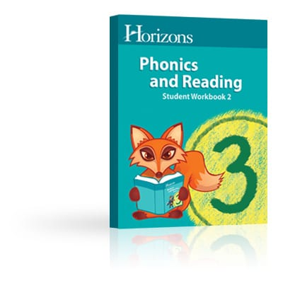 Horizons 3rd Grade Phonics & Reading Student Book 2 from Alpha Omega Publications