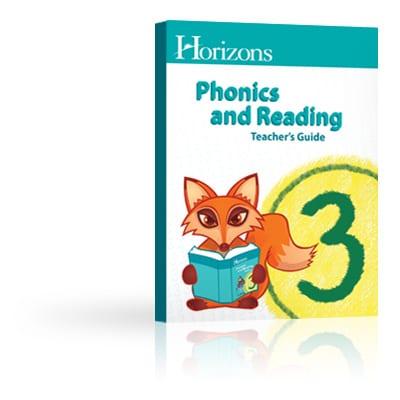 Horizons 3rd Grade Phonics & Reading Teacher's Guide from Alpha Omega Publications