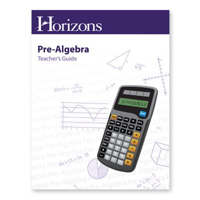 Horizons Pre-Algebra Teacher's Guide from Alpha Omega Publications