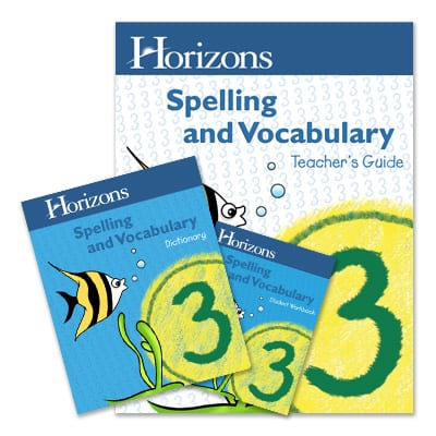 Horizons 3rd Grade Spelling & Vocabulary Set from Alpha Omega Publications