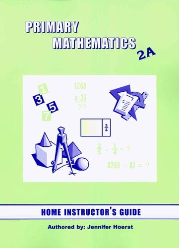 Primary Math Home Instructor's Guide 2A US Edition by Singapore Math