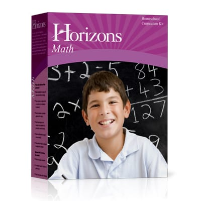 Horizons 4th Grade Math Complete Set from Alpha Omega Publications