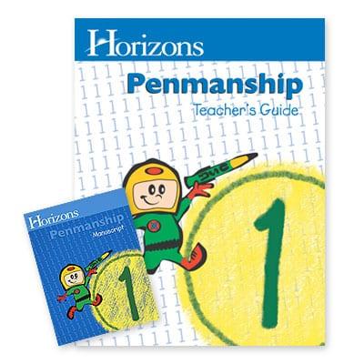 Horizons 1st Grade Penmanship Set from Alpha Omega Publications