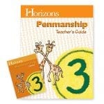Horizons 3rd Grade Penmanship Set from Alpha Omega Publications