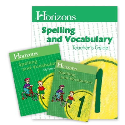 Horizons 1st Grade Spelling & Vocabulary from Alpha Omega Publications