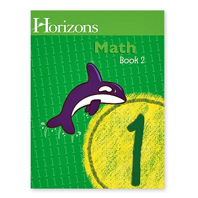 Horizons 1st Grade Math Student Book 2 from Alpha Omega Publications