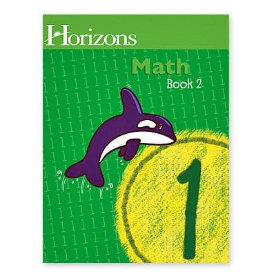 Horizons 1st Grade Math Student Book 2 from Alpha Omega Publications