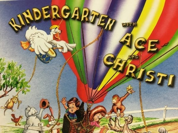 Kindergarten Daily Instructional Manual 4 from Accelerated Christian Education