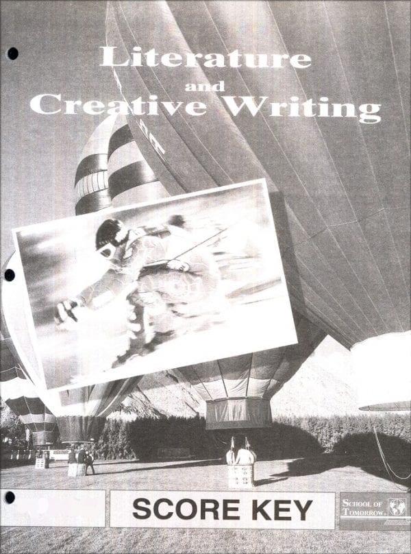 Literature and Creative Writing Answer Key 1070-1072
