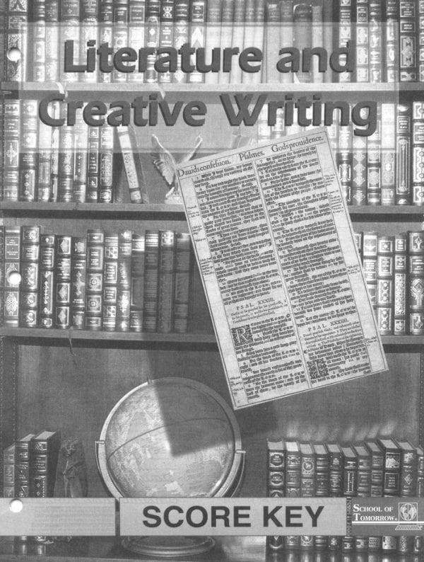 Literature and Creative Writing Answer Key 1055-1057