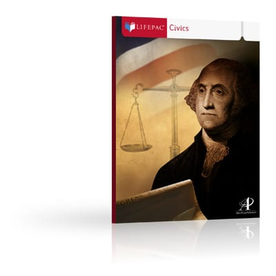 Civics Unit 5 Worktext from Alpha Omega Publications