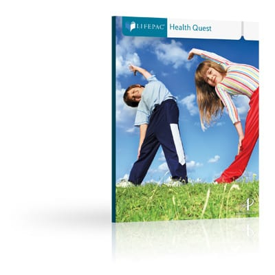 Health Quest Unit 2 Worktext from Alpha Omega Publications