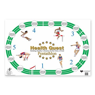 Health Quest Poster from Alpha Omega Publications