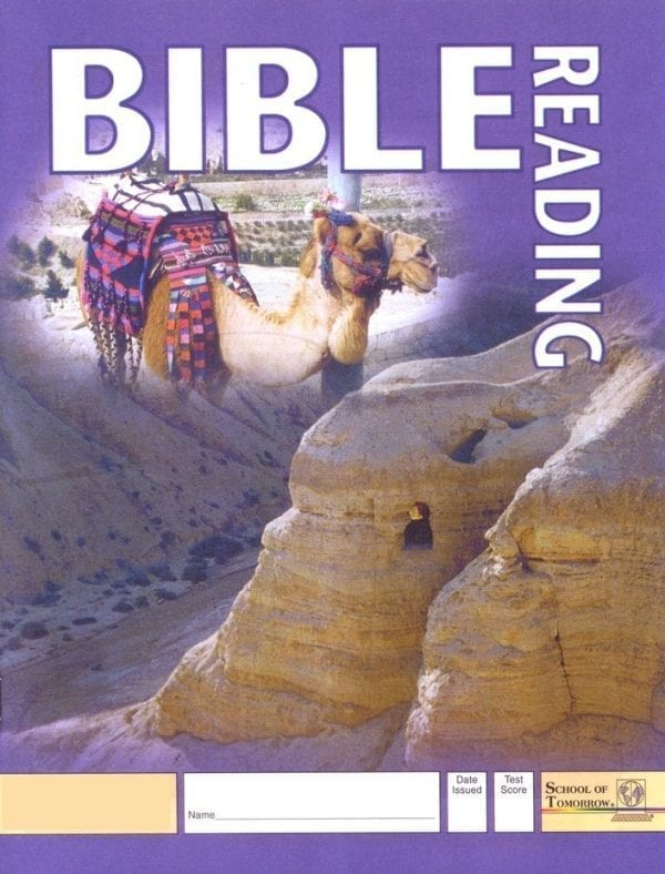 2nd Grade Bible Reading Pace 1022 by Accelerated Christian Education