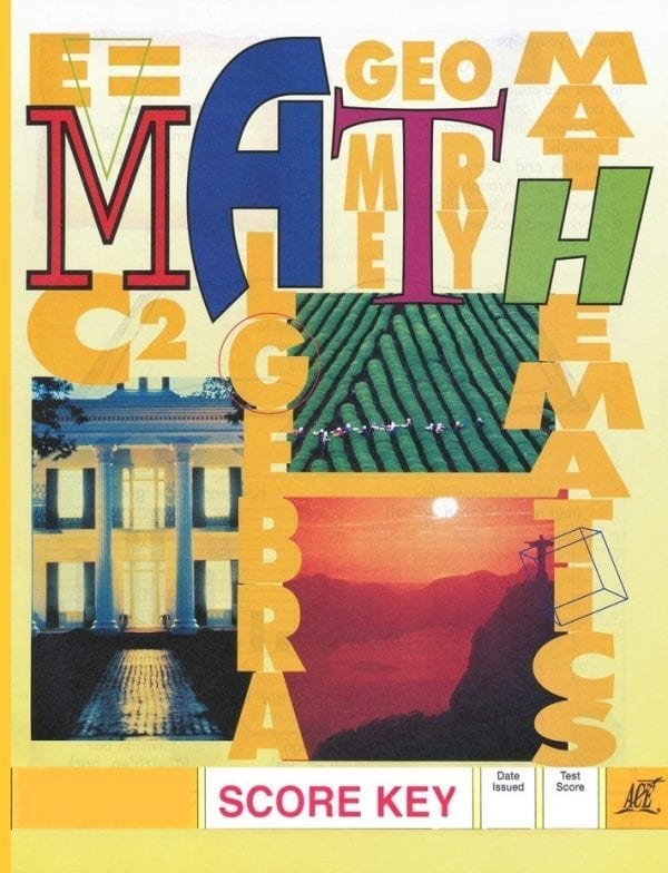 1st Grade Math Answer Key 1011 by Accelerated Christian Education