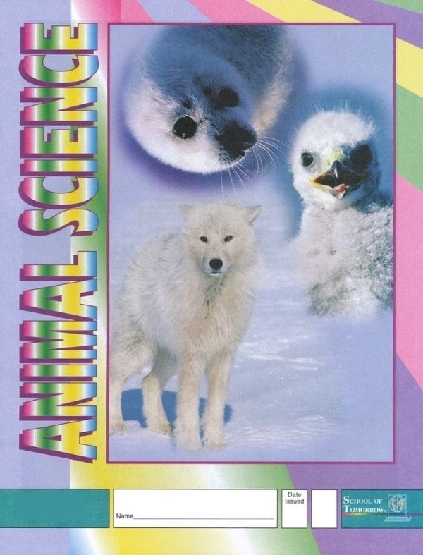 1st Grade Animal Science Pace 1002 by Accelerated Christian Education