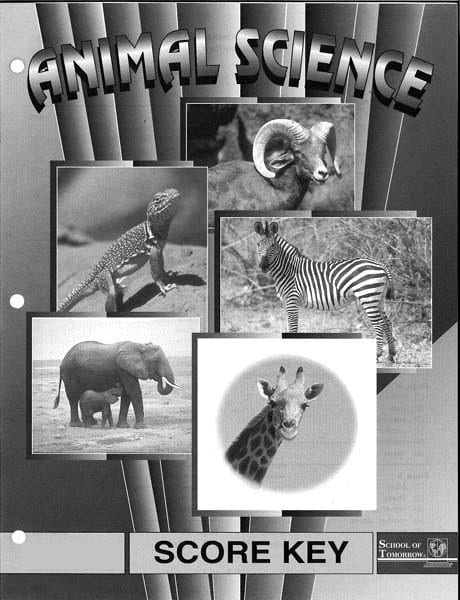 2nd Grade Animal Science Answer Key 1019-1021 by Accelerated Christian Education