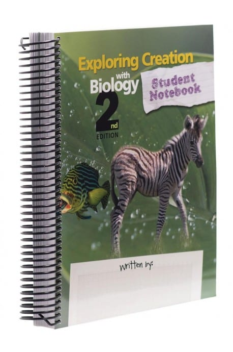 Exploring Creation with Biology Notebook